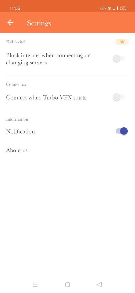 Turbo VPN MOD APK [VIP, Premium Unlocked] 4