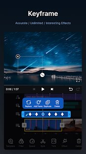 Keyframe in VN Video Editor