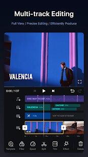 VN Video Editor MOD APK Timeline