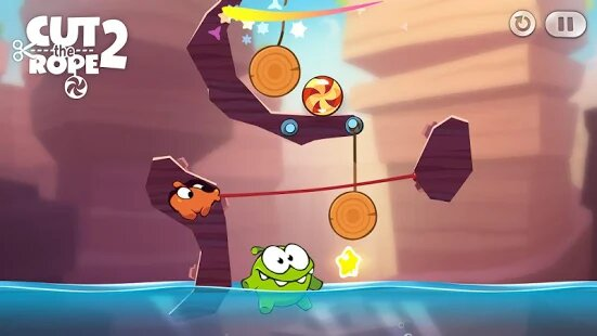 Cut the Rope 2 MOD APK Gameplay
