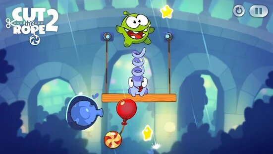 All Levels Unlocked in Cut the Rope 2 MOD APK