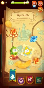 Cut the Rope: Magic MOD APK [Unlimited Crystals | Hints] 4