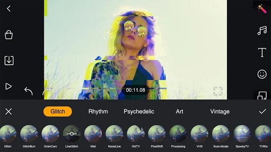 Video Effects and Filters in Film Maker Pro MOD APK