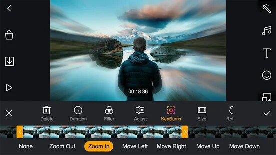 Advanced Editing Tools in Film Maker Pro APK