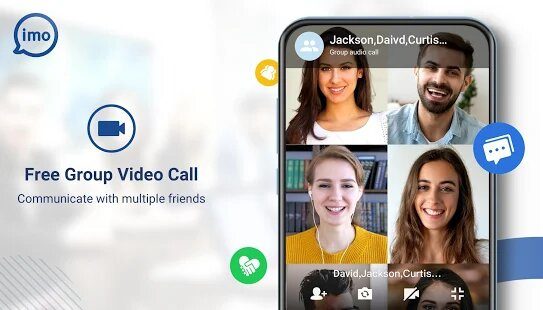 Group Video Call in IMO Premium MOD