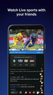 Watch Live Cricket in Hotstar MOD App