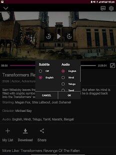 watch movies, shows, web series in JioCinema MOD APK