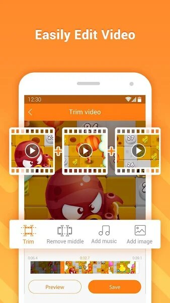 Edit and Record Video in DU Recorder MOD APK