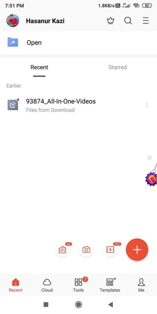 WPS Office MOD APK All Features