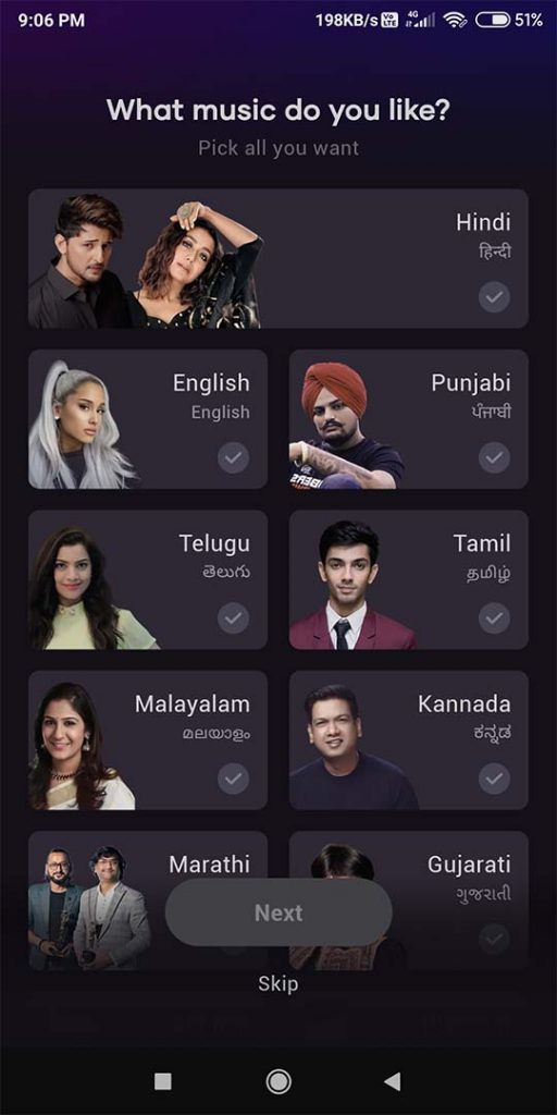 Find All Languages Songs in Resso MOD APK